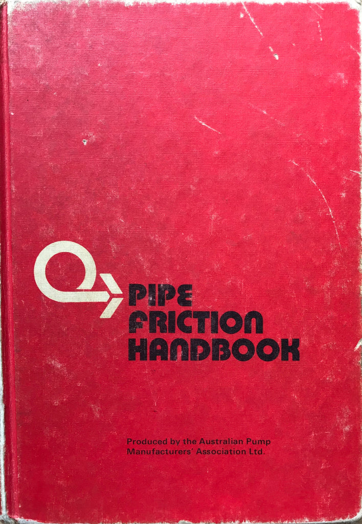 Pipe Friction Handbook