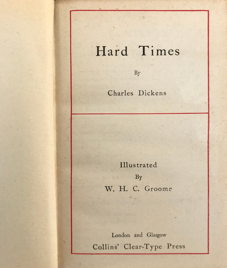 Charles Dickens Hard Times