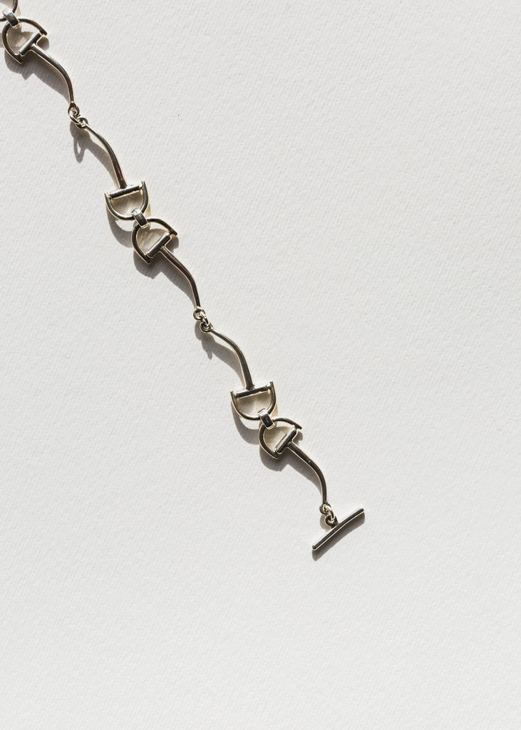 Ryder Necklace, Silver
