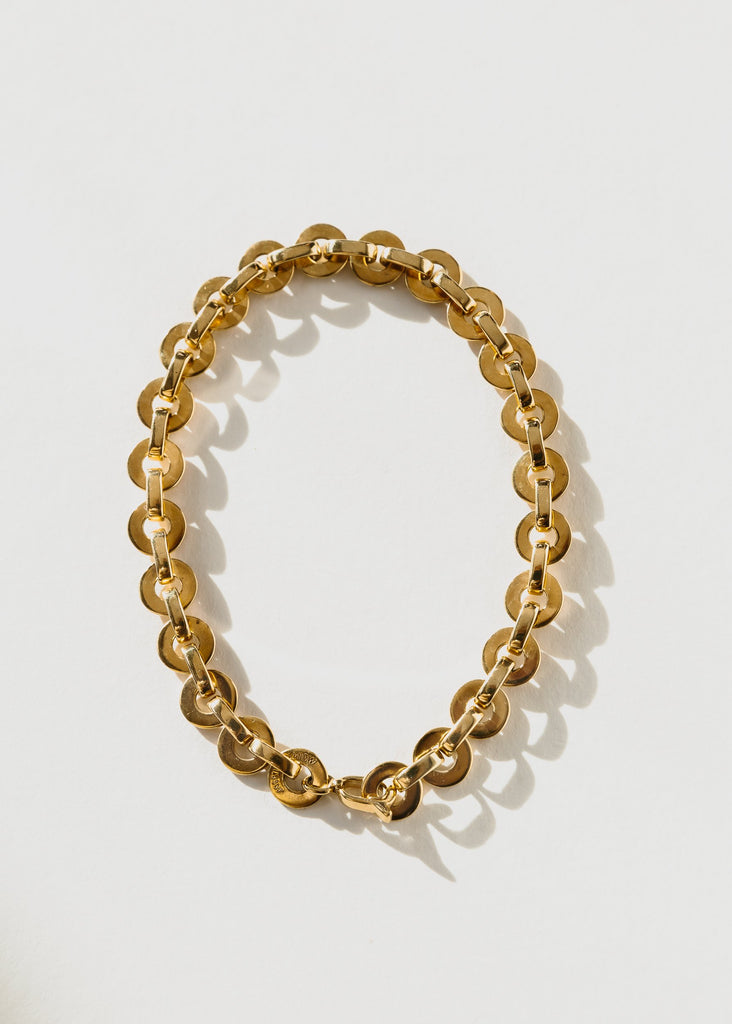 Moon Anklet, Gold