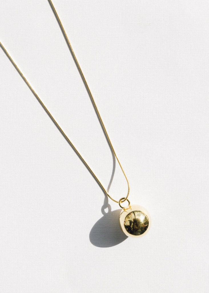 Cherry Necklace, Gold