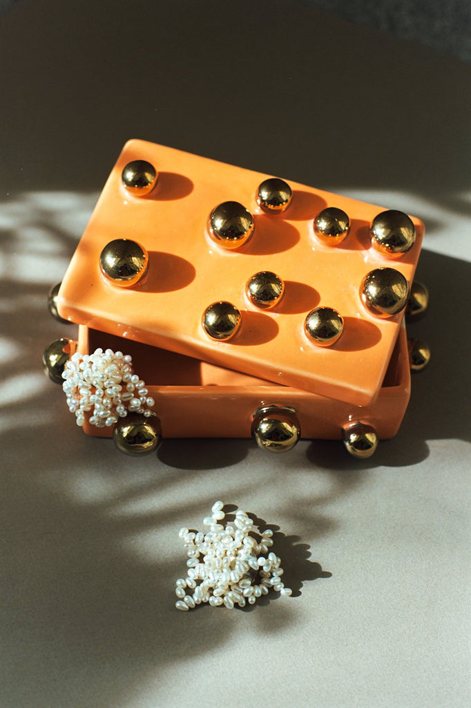 Jewellery Box, Tangerine