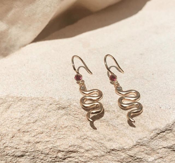 Aspen Serpent Earrings