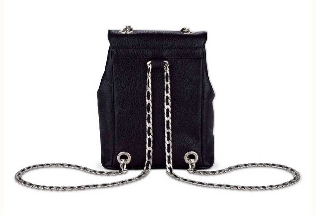 The Romy Backpack Silver
