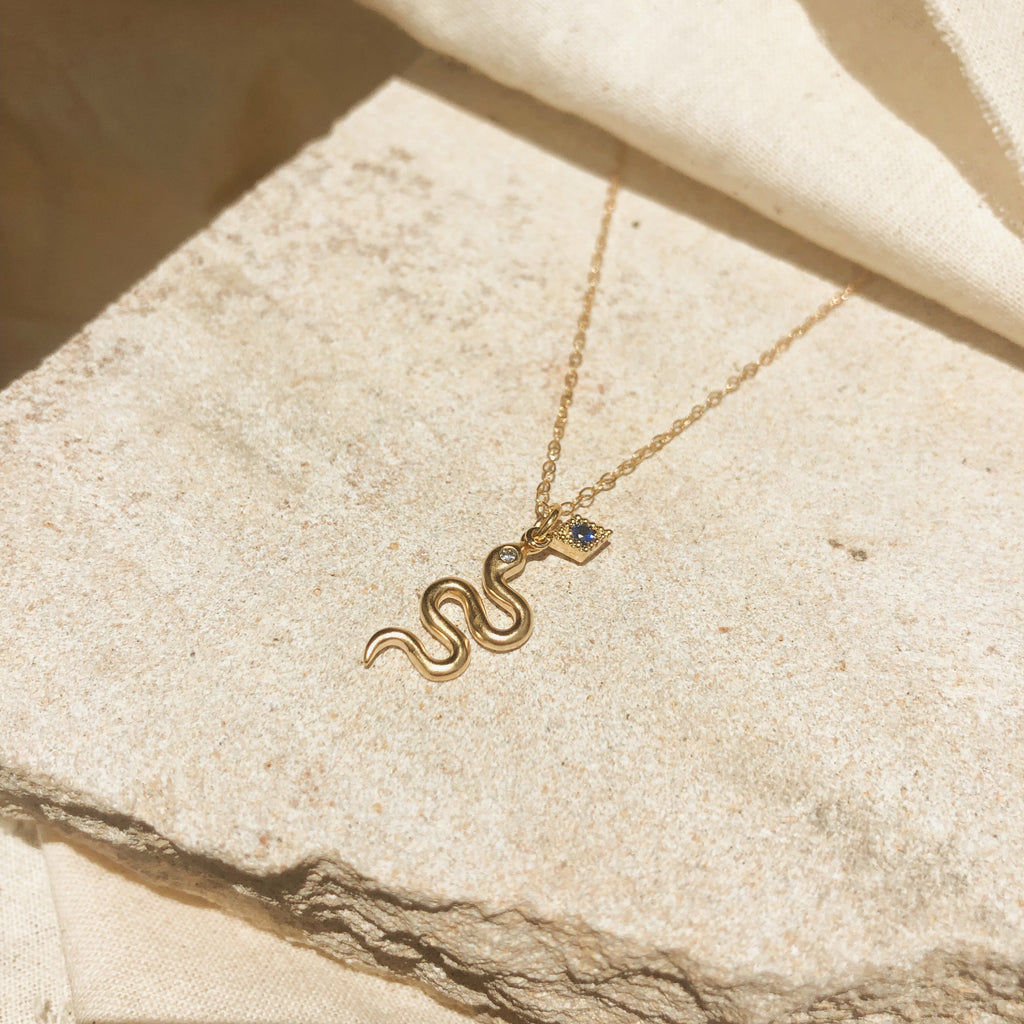 Aspen Serpent Necklace
