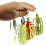 Silicone Skirts Willow Blade Saltwater Metal Fishing Lure