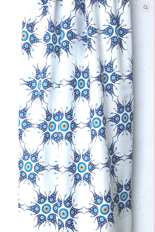Evil Eye Star Towel -  Anatolian Collection