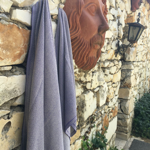 Purple Argonauts Towel- Boreas Collection