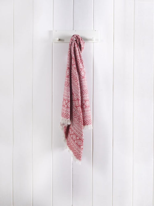Red Pallio Towel - Poseidon Collection
