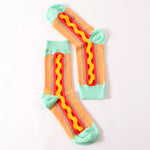 Hot Dog Socks - Sock Mafia