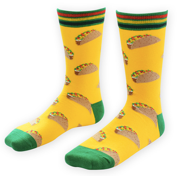 Taco Tuesday Socks - Sock Mafia