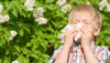 What to give an infant who has Pollen Allergies