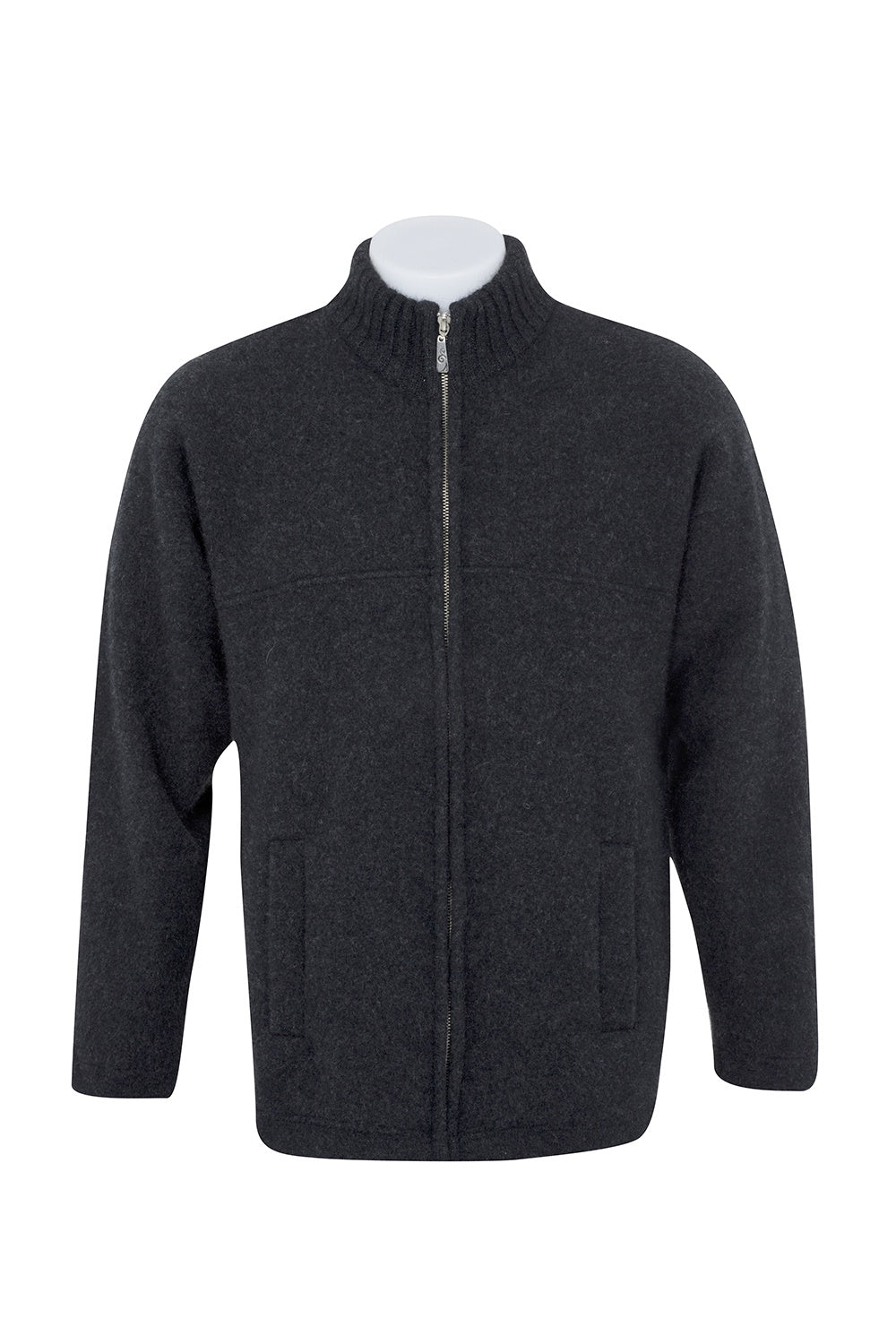 Men's possum felted zip jacket - Ravir Boutique