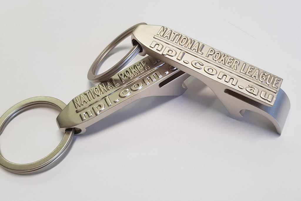 NPL Bottle Opener Key Ring