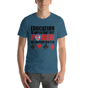 Short-Sleeve Unisex T-Shirt - NPL Poker Education