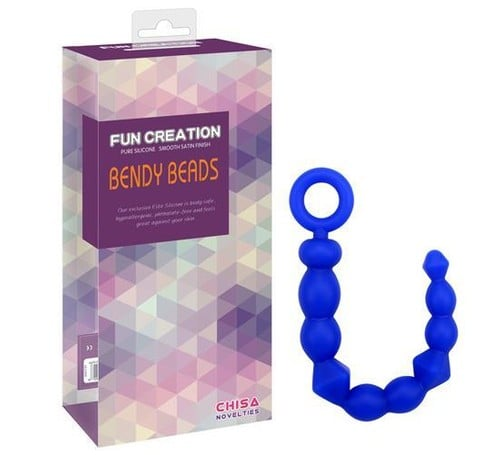 Fun Creation Bendy Beads Silikon Anal Tıkaç - C-CH3030