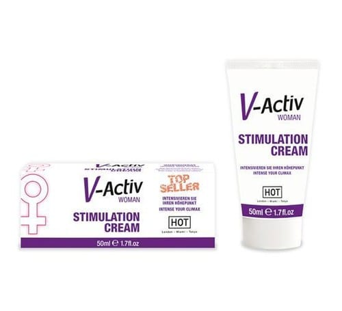 hot v-activ stimulation cream for women - c-1232 - adres medikal