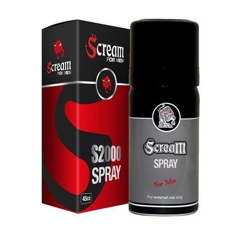 Scream S2000 Delay Longtime Spray - C-1508