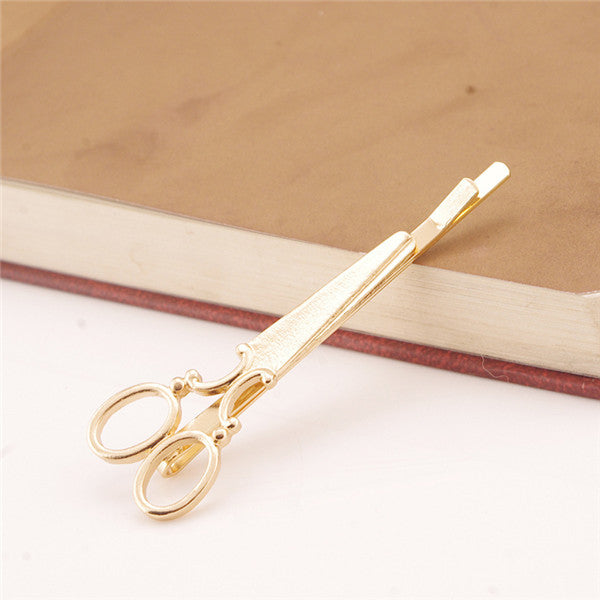 1 Pieces Hair Clip 2017 Fashion Hairpins Hair Accessories DIY Hair Care Styling Tools Gold