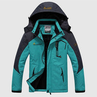 2017 Men's Winter Inner Fleece Waterproof Jacket Outdoor Sport Warm Brand Coat Hiking Camping Trekking Skiing Male Jackets VA063