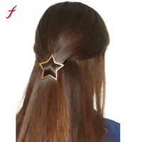 Hollow Five-pointed Star Hairpin