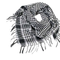 1PC Winter Warm Scarf Unisex Fashion Women Men Arab Shemagh Keffiyeh Palestine Shawl Wraps Scarf Scarves Bufandas Large Size