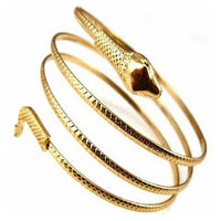 Fashion Coiled Snake Spiral Upper Arm Cuff Armlet Armband Bangle Bracelet