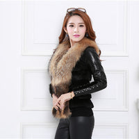 Women Fur Coats And Jackets Vest Sleeveless Outerwear Long Hair Jacket Waistcoat New Arrival Warm Feather Coat Colete Pele#21