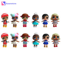 1pcs LOL Surprise Doll Beads Unpacking Kids Gifts Funny LOL Surprise Eggs for Baby Toys LOL SURPRISE DOLL Series Beads New