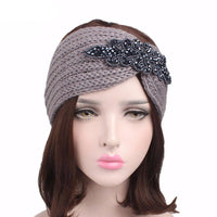 Turban Ear Warmer Headwrap Knot Crochet Headband