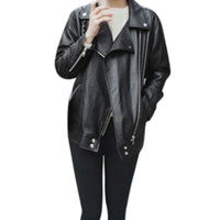 Winter Warm Women Short Coat Leather Jacket Parka Tops Overcoat Outwear