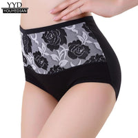 High Quality Women High Waist Cotton Briefs Sexy Healthy Panties Underwear For Women Ladies Bragas Mujer 2017 XXL*1010
