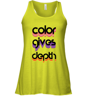 Color Gives Depth | Tank Top
