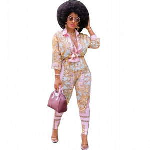 African 2 Piece Pant Suit For Women
