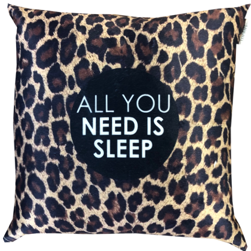 Cojin LEOPARDITO SLEEP - 50 X 50