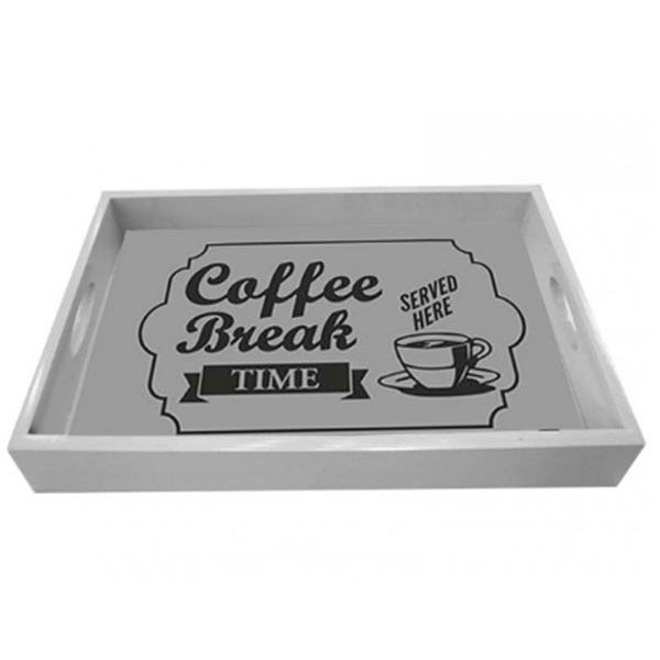 Coffee Break Charola de Madera