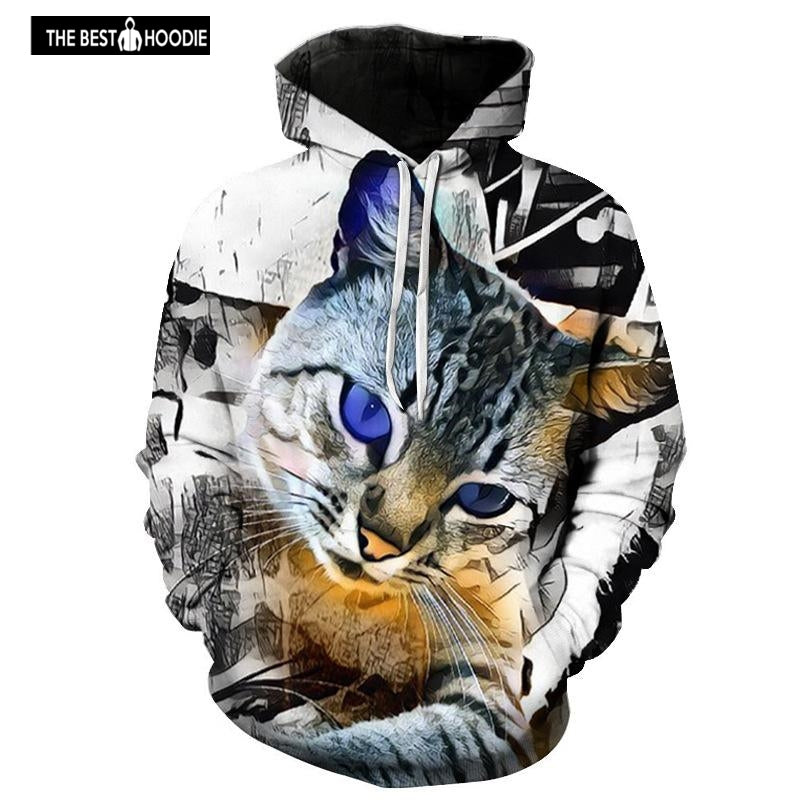 df9261de9e84 2018 Autumn Winter Men s 3d Graphic Hoodies Animal Print Hooded Brand- –  Awesome 3D Hoodie - The Best Hoodie