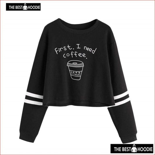 f9e0ef4f402a41 ... 2017 New Autumn Women Casual Pullover Harajuku Fashion Letter Crop Tops  Round Neck Long Sleeve ...