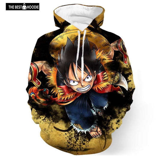 e68ff35c838 2018 new fashion Cool sweatshirt Hoodies Men women 3D print Luffy Strong  one piece hot Style ...