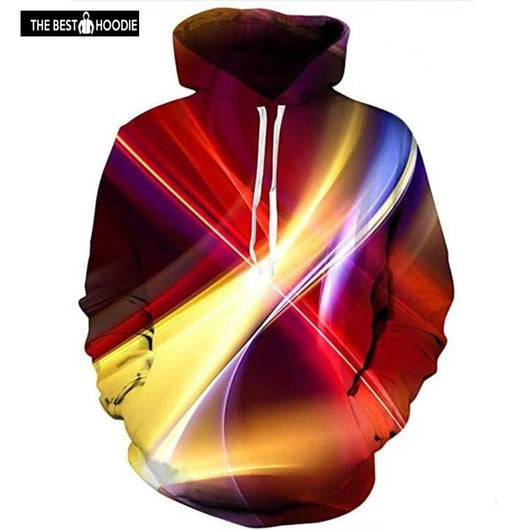 3f903a2ee92 2018 Fashion 3D Hoodies Men Smooth Colorful Streak Soft Print Hoodies  Casual Tracksuits Mens Pullovers Unisex ...