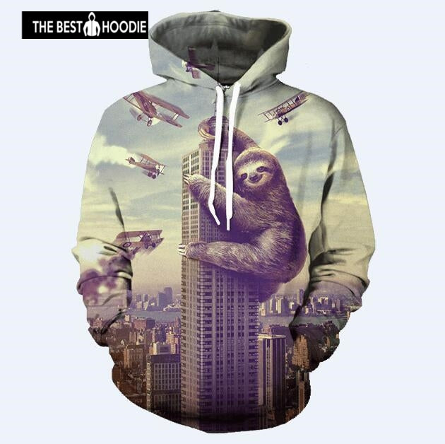 85d3d447996c Sondirane Cool 3D Print Animal Apes Graphic Hoodies Funny Hip Hop Trac –  Awesome 3D Hoodie - The Best Hoodie