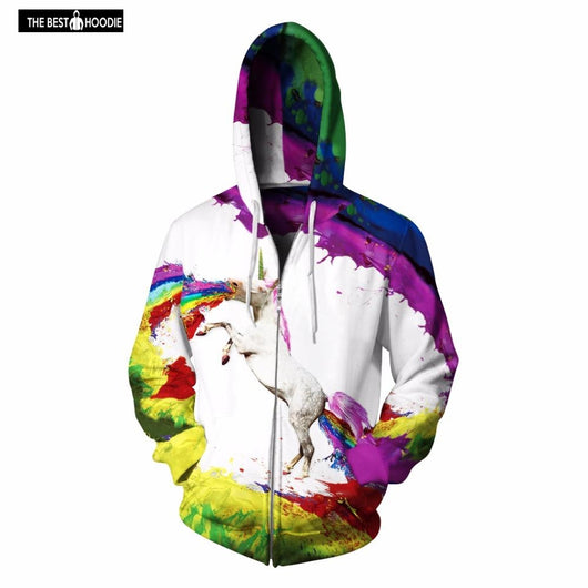 7e6fcf0e1580 ... high quality zipper lion hooded shirts men women printed 3d hoodies  casual graphic hoodie funny ...