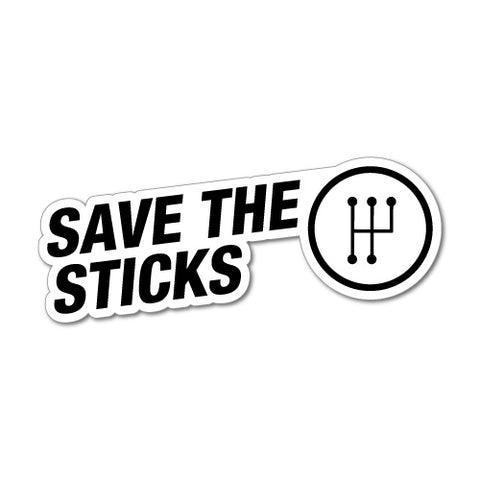 Save The Sticks Jdm Car Sticker Decal