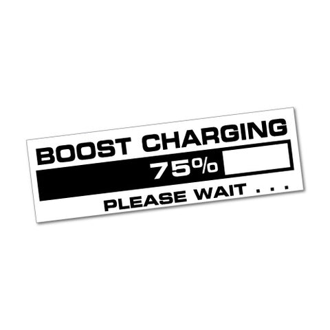 Boost Charging Jdm Sticker Decal