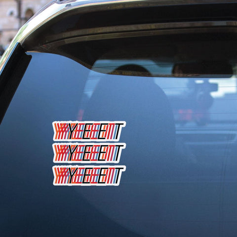 3X Yeet Sticker Decal