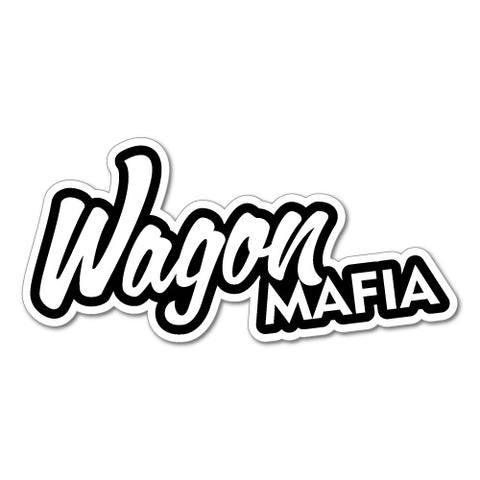 Wagon Mafia Jdm Sticker Decal