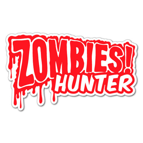 ZOMBIES HUNTER BLOOD JDM Sticker Decal