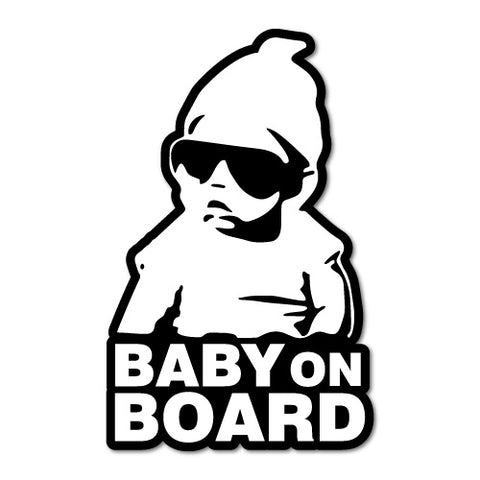 Hoodie Baby On Board Jdm Sticker Decal
