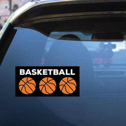 Basketball Sport Sticker Decal