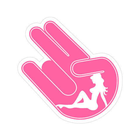 Shocker Girl Jdm Sticker Decal